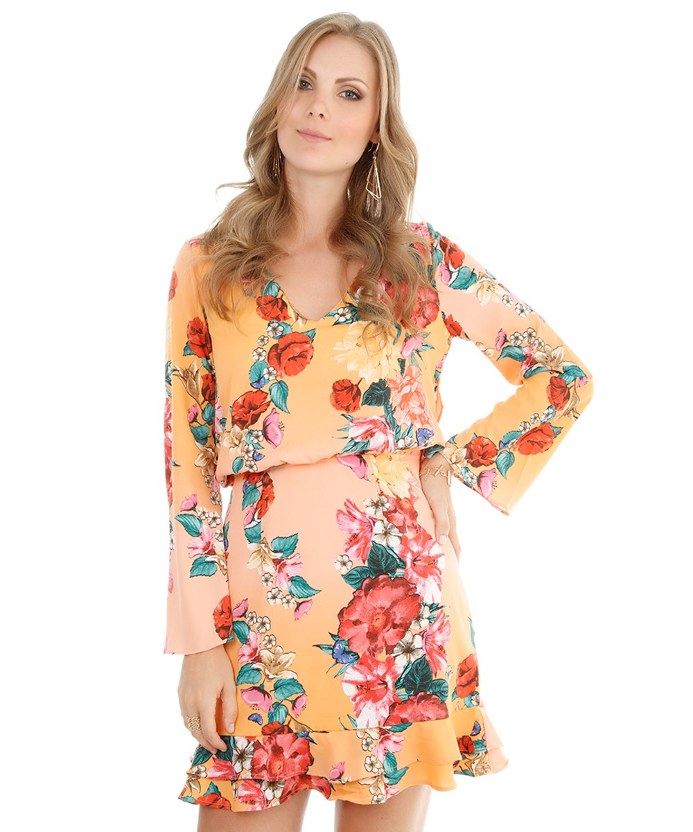 Vestidos femininos estampados inspirados na Dolce   Gabbana 38a3f829ef