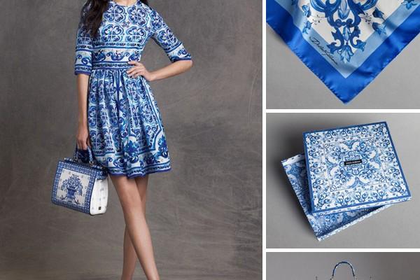 Peças inspiradas na estampa de azulejo Dolce   Gabbana 9b917135ff